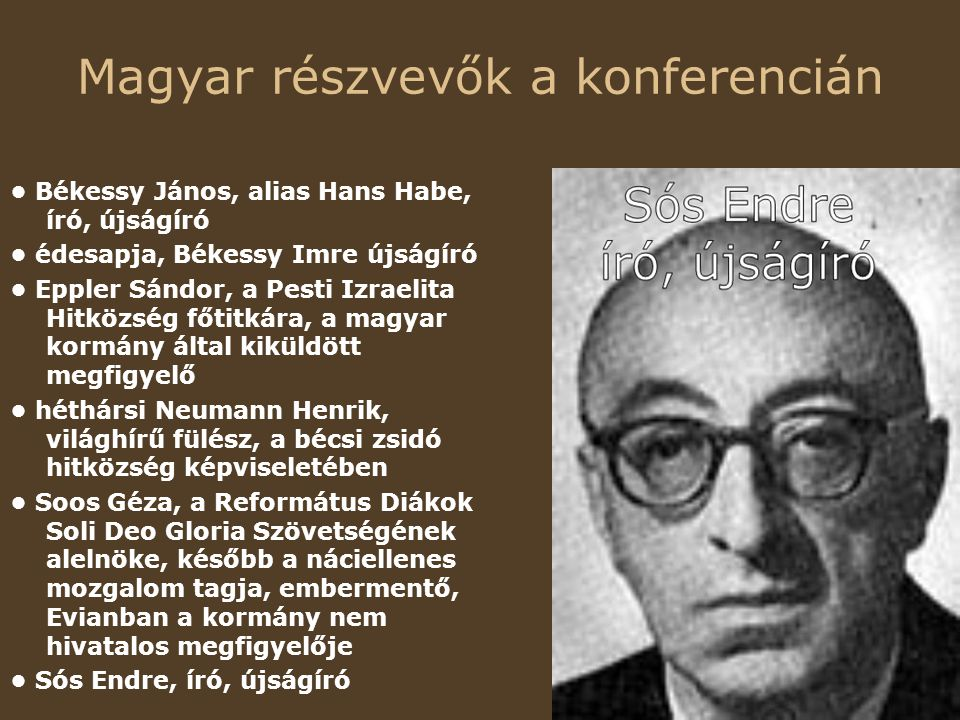 Magyar részvevők a konferencián