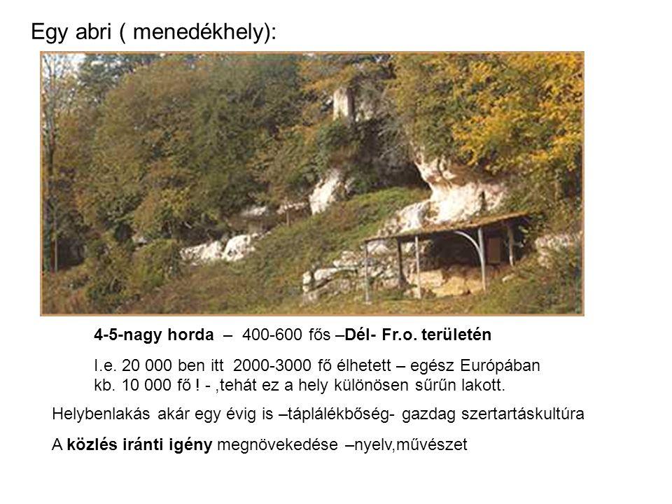 Egy abri ( menedékhely):