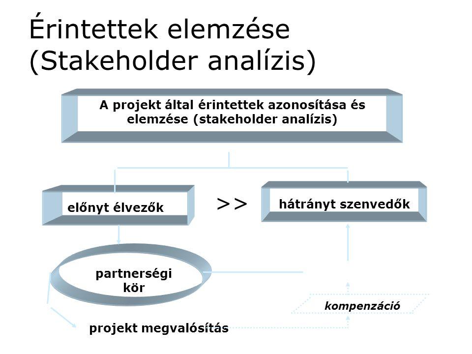 Érintettek elemzése (Stakeholder analízis)