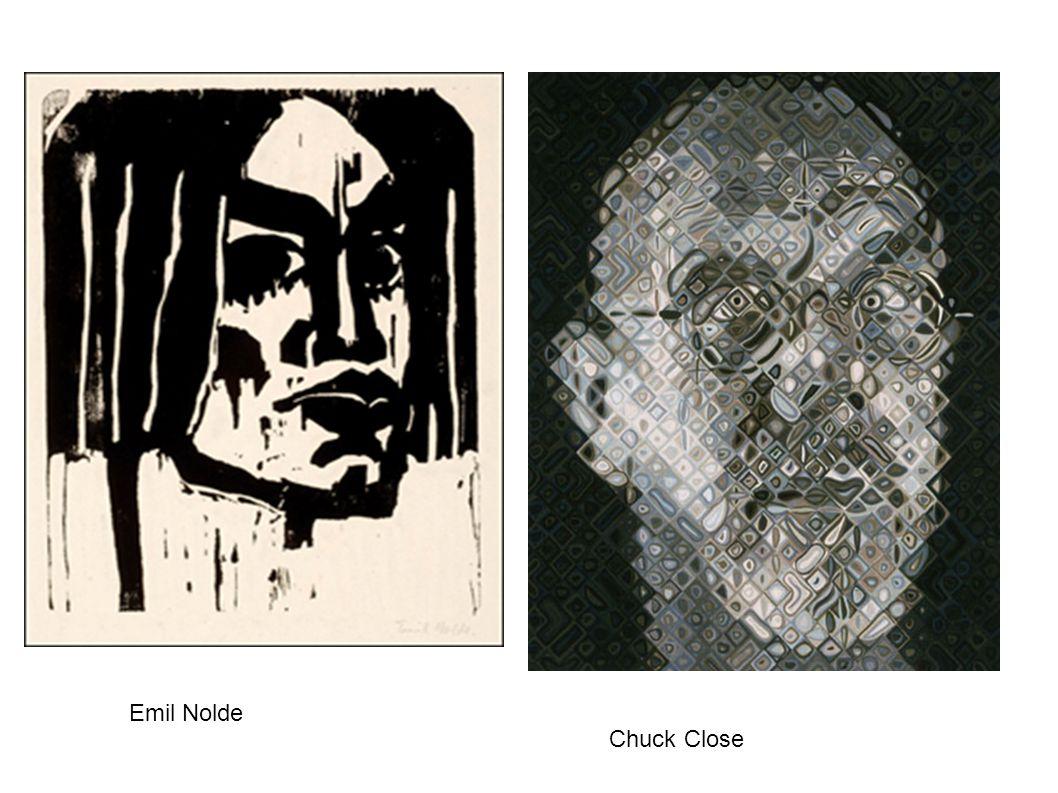 Emil Nolde Chuck Close