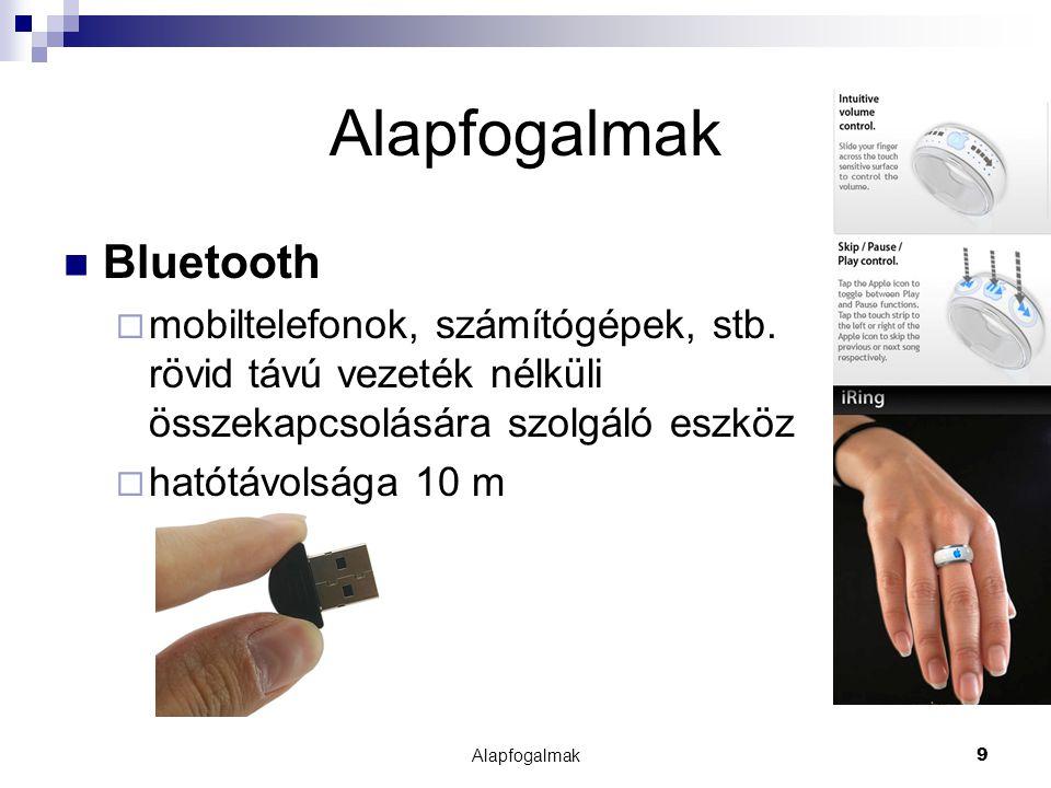Alapfogalmak Bluetooth