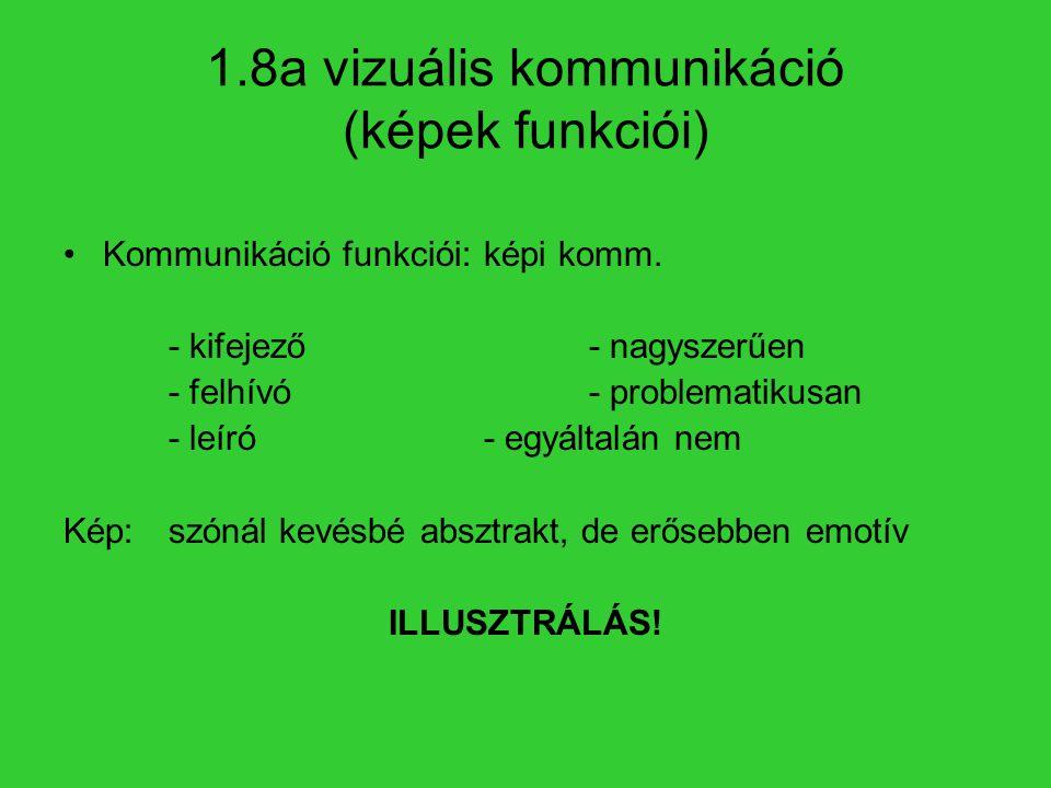 1.8a vizuális kommunikáció (képek funkciói)