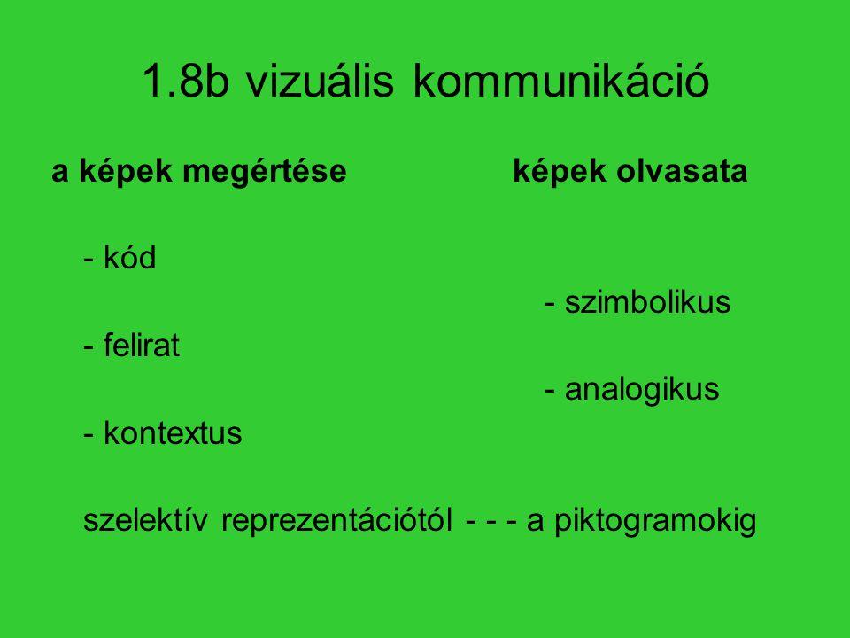 1.8b vizuális kommunikáció