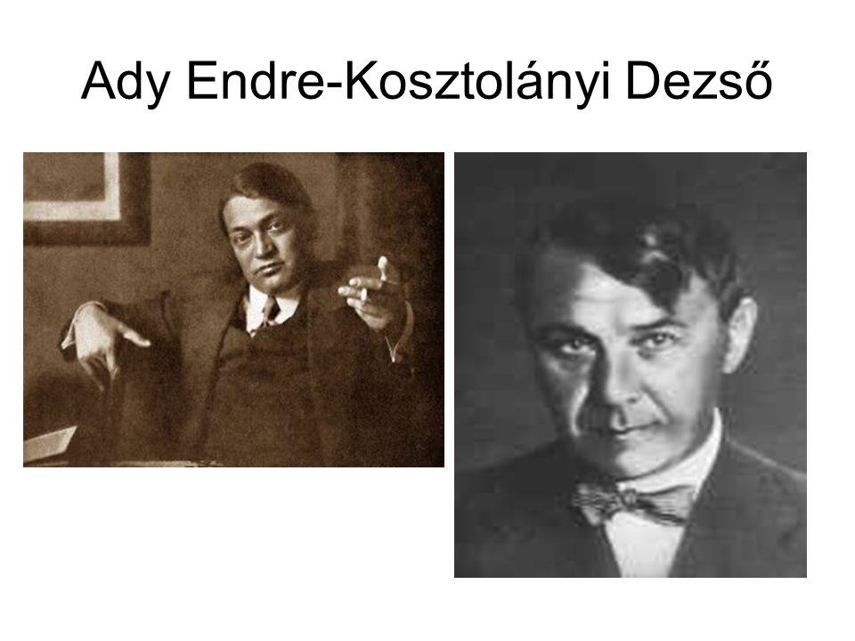 Ady Endre-Kosztolányi Dezső