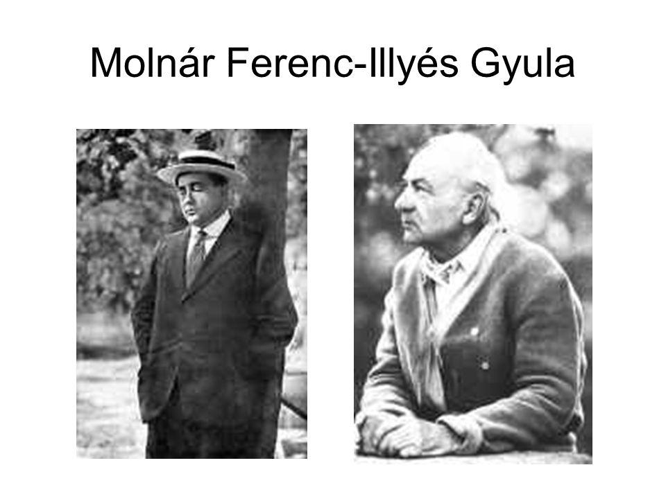 Molnár Ferenc-Illyés Gyula