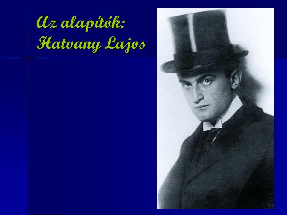 Az alapítók: Hatvany Lajos