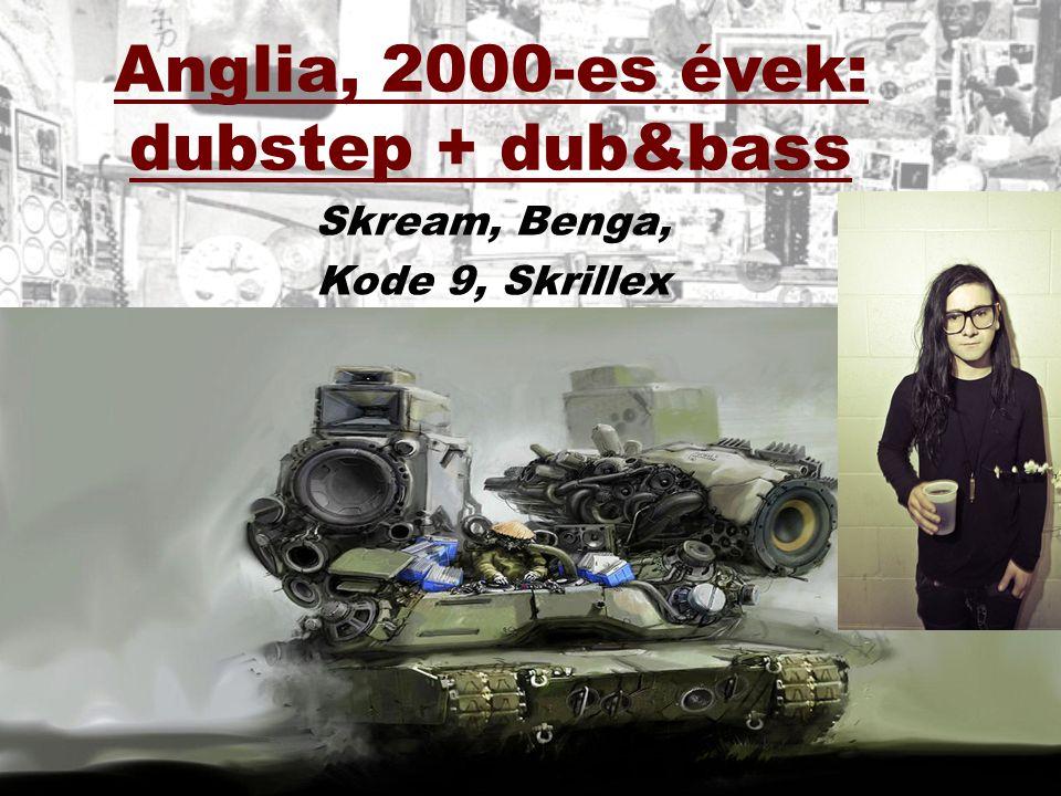 Anglia, 2000-es évek: dubstep + dub&bass