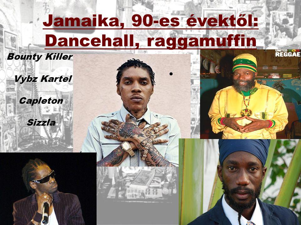 Jamaika, 90-es évektől: Dancehall, raggamuffin