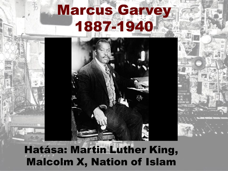 Hatása: Martin Luther King, Malcolm X, Nation of Islam
