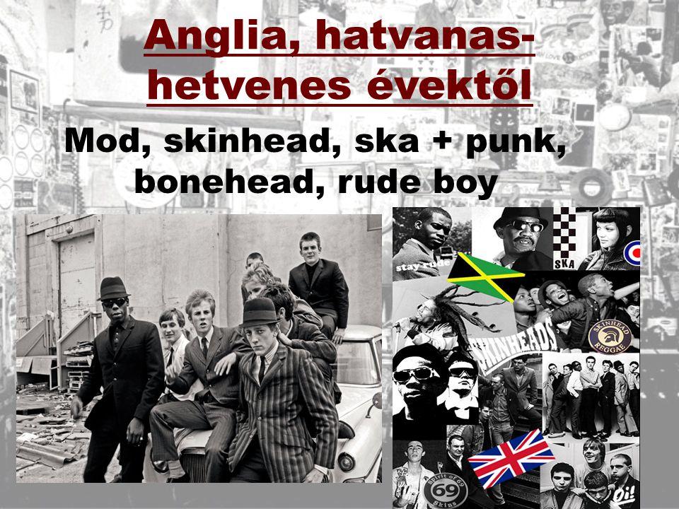 Anglia, hatvanas-hetvenes évektől