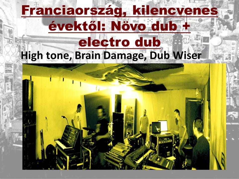 Franciaország, kilencvenes évektől: Növo dub + electro dub