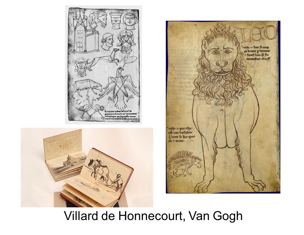 Villard de Honnecourt, Van Gogh