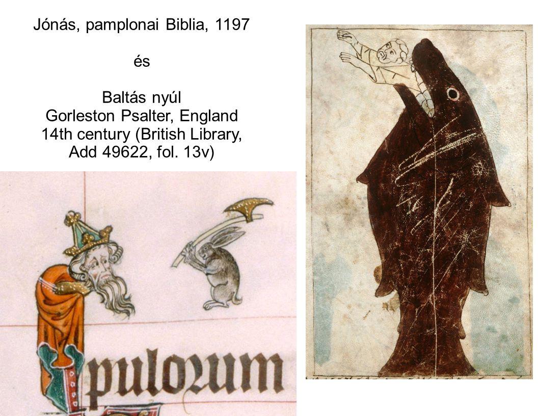 Jónás, pamplonai Biblia, 1197