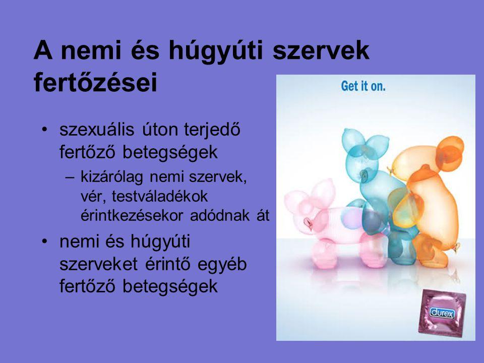 A nemi és húgyúti szervek fertőzései