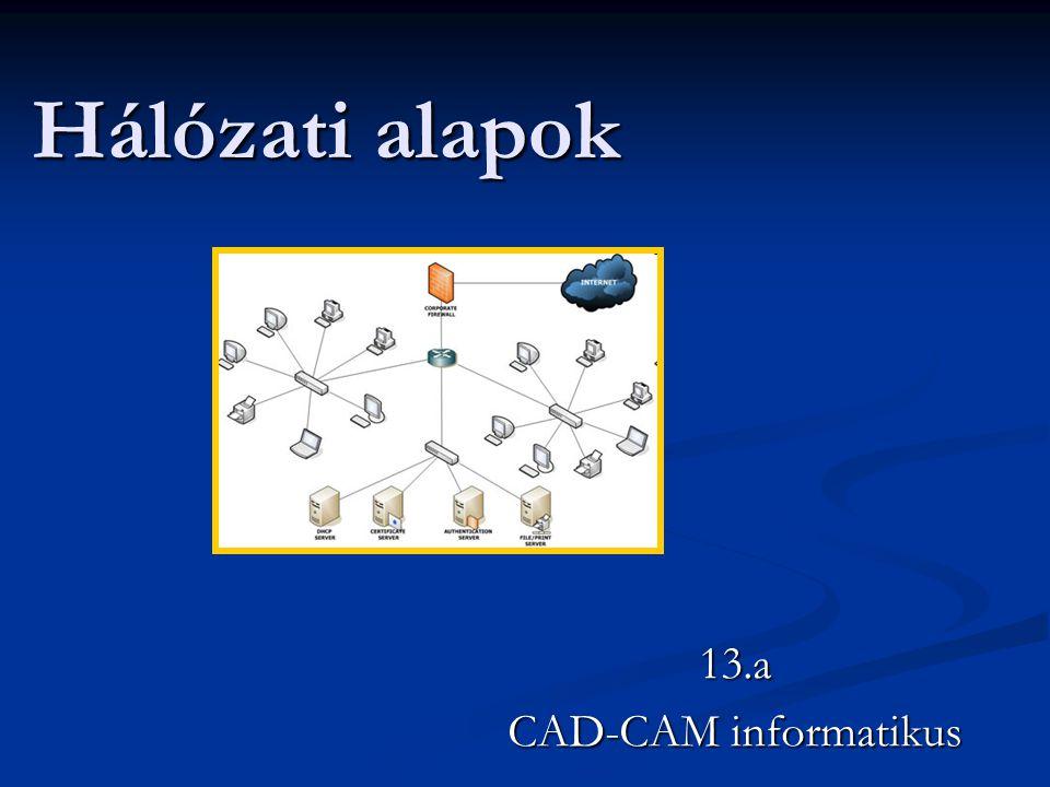 13.a CAD-CAM informatikus