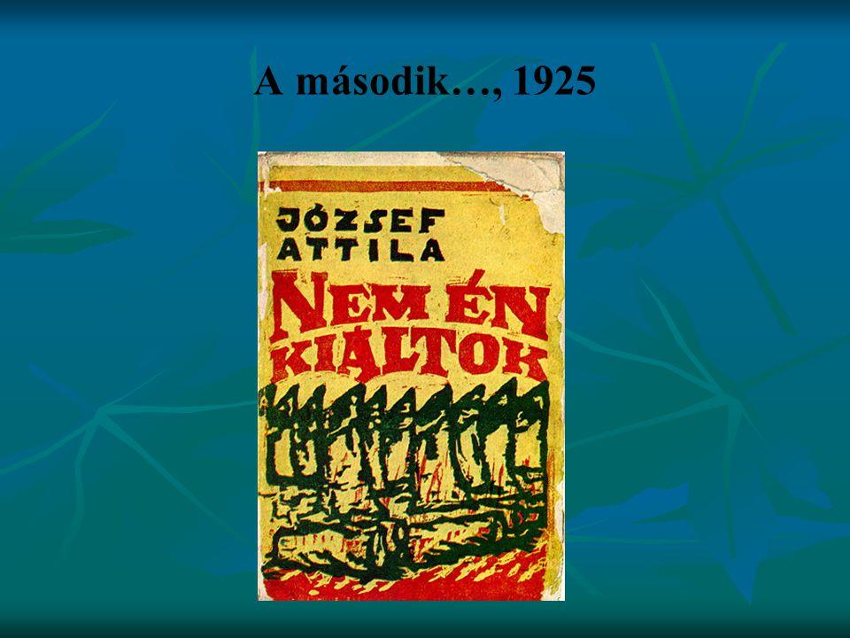 A második…, 1925