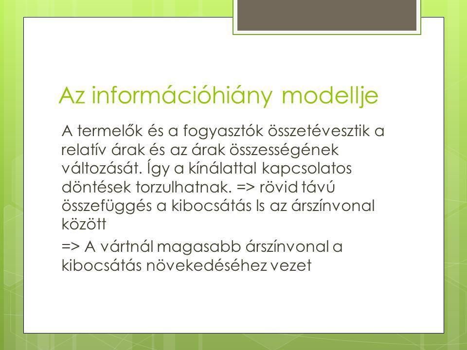 Az információhiány modellje
