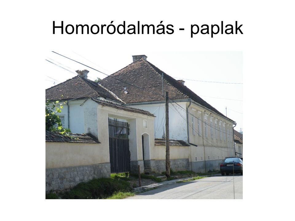 Homoródalmás - paplak