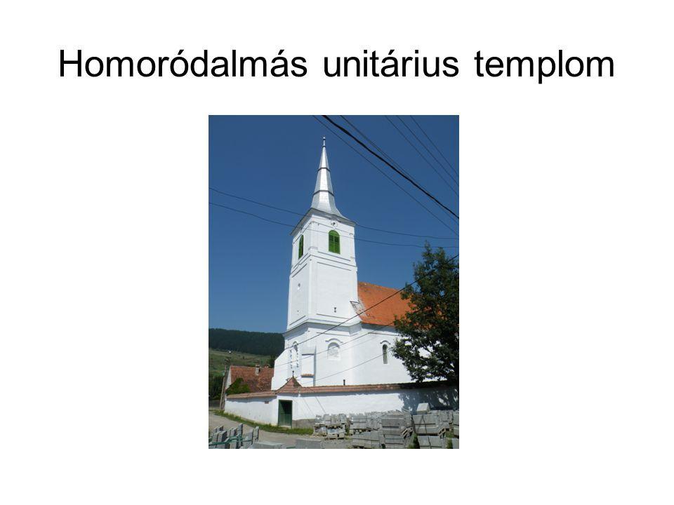 Homoródalmás unitárius templom