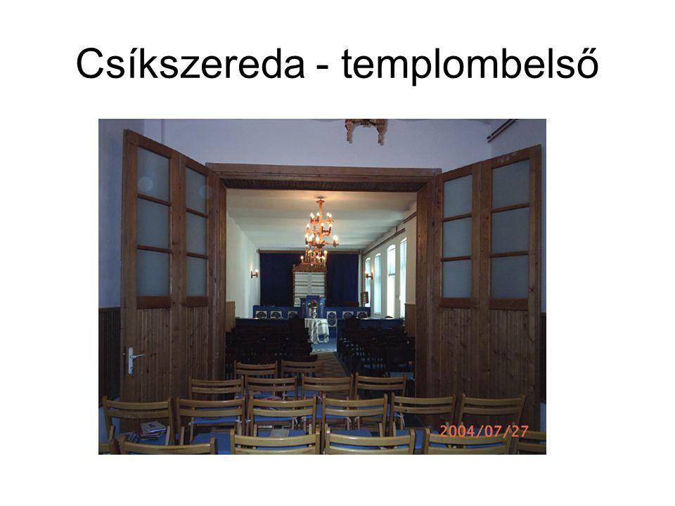 Csíkszereda - templombelső