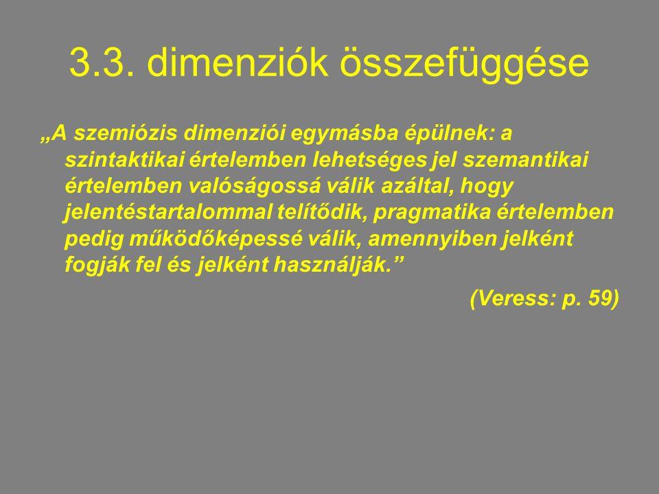 3.3. dimenziók összefüggése