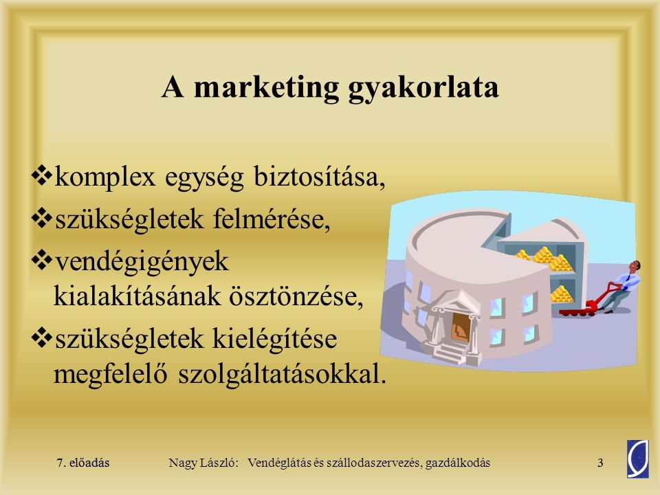 A marketing gyakorlata
