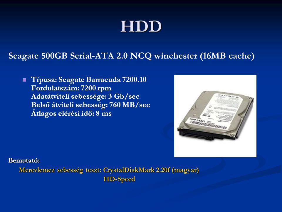 HDD Seagate 500GB Serial-ATA 2.0 NCQ winchester (16MB cache)