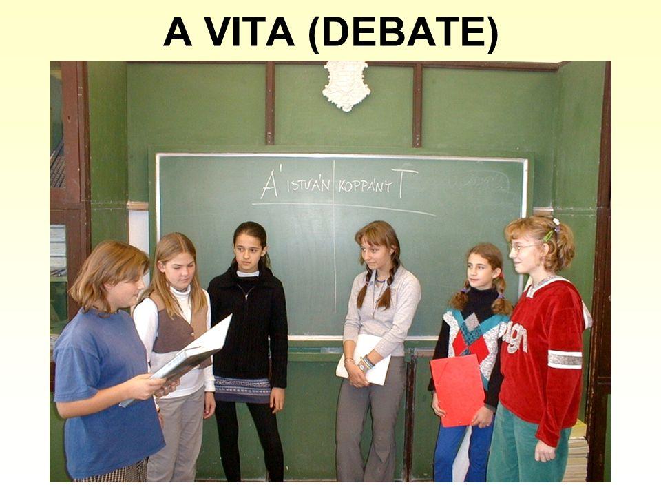A VITA (DEBATE)