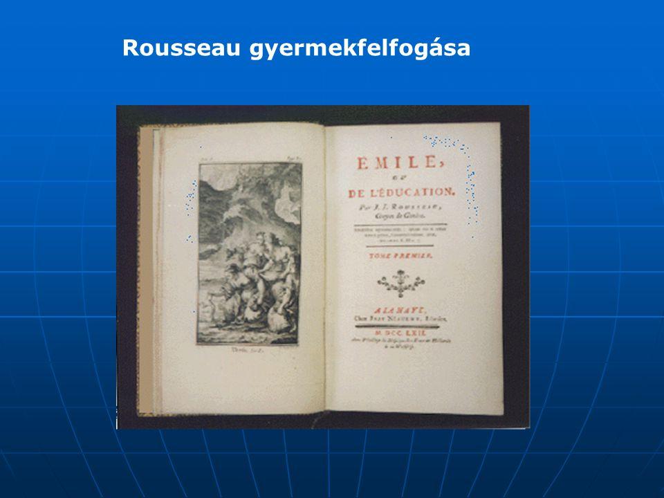 Rousseau gyermekfelfogása