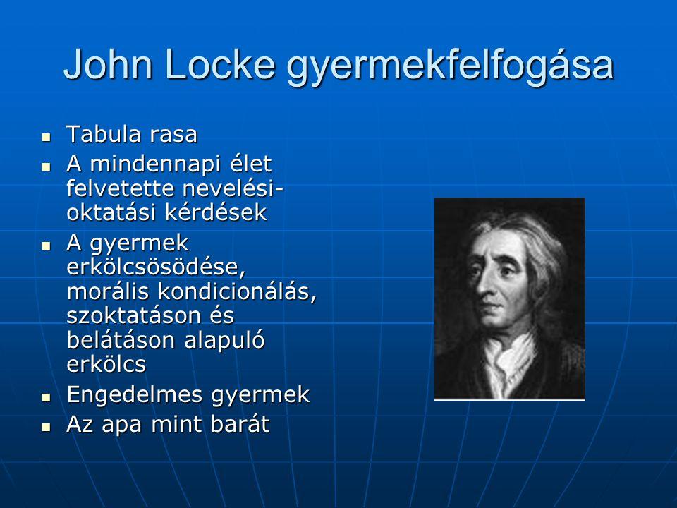 John Locke gyermekfelfogása