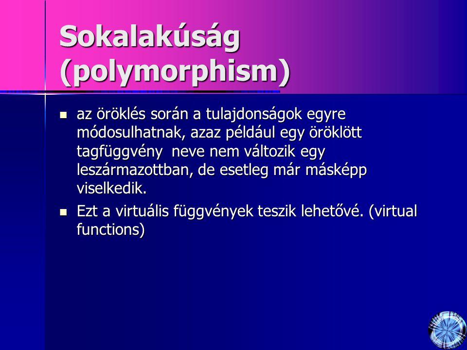 Sokalakúság (polymorphism)