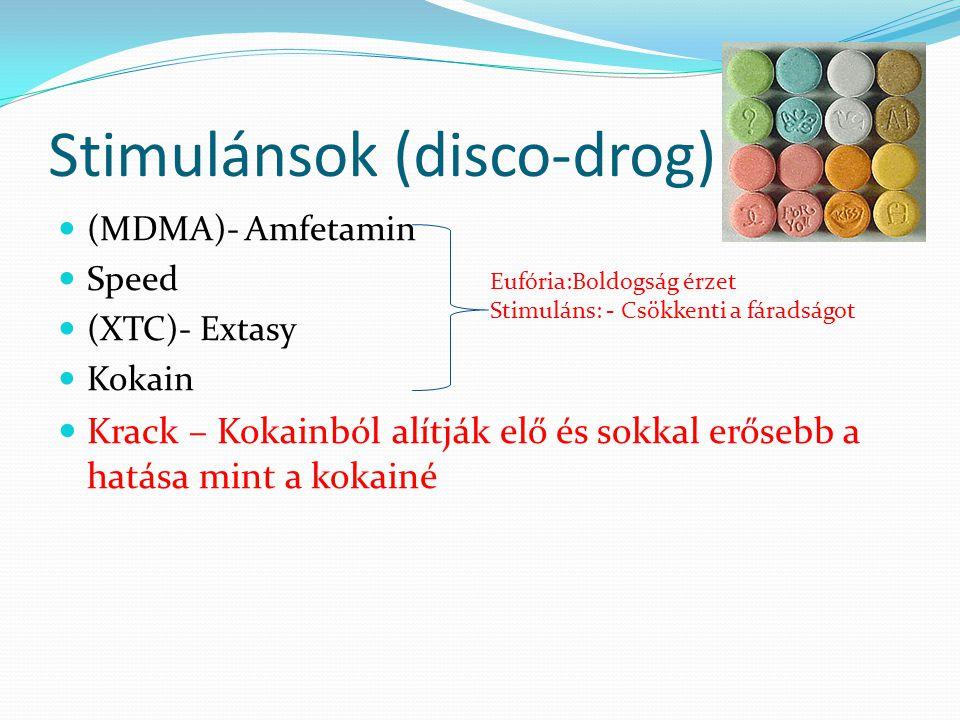 Stimulánsok (disco-drog)