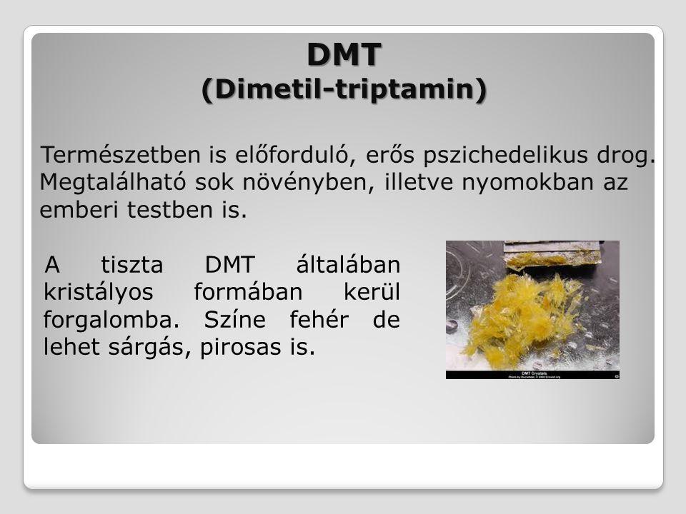 DMT (Dimetil-triptamin)