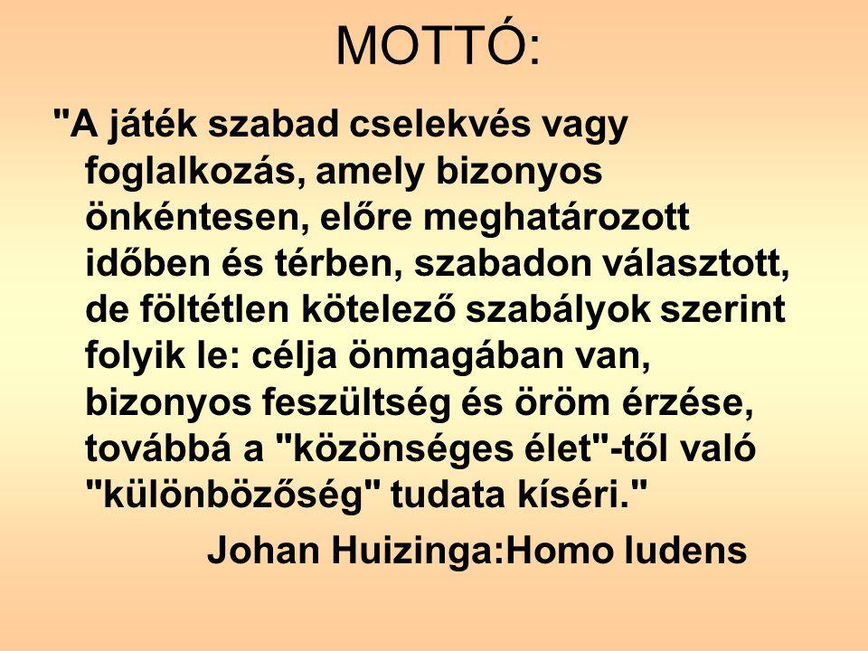 Johan Huizinga:Homo ludens