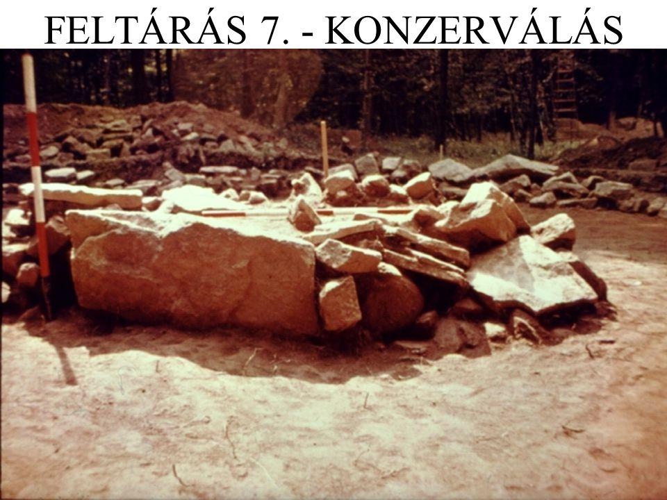 FELTÁRÁS 7. - KONZERVÁLÁS