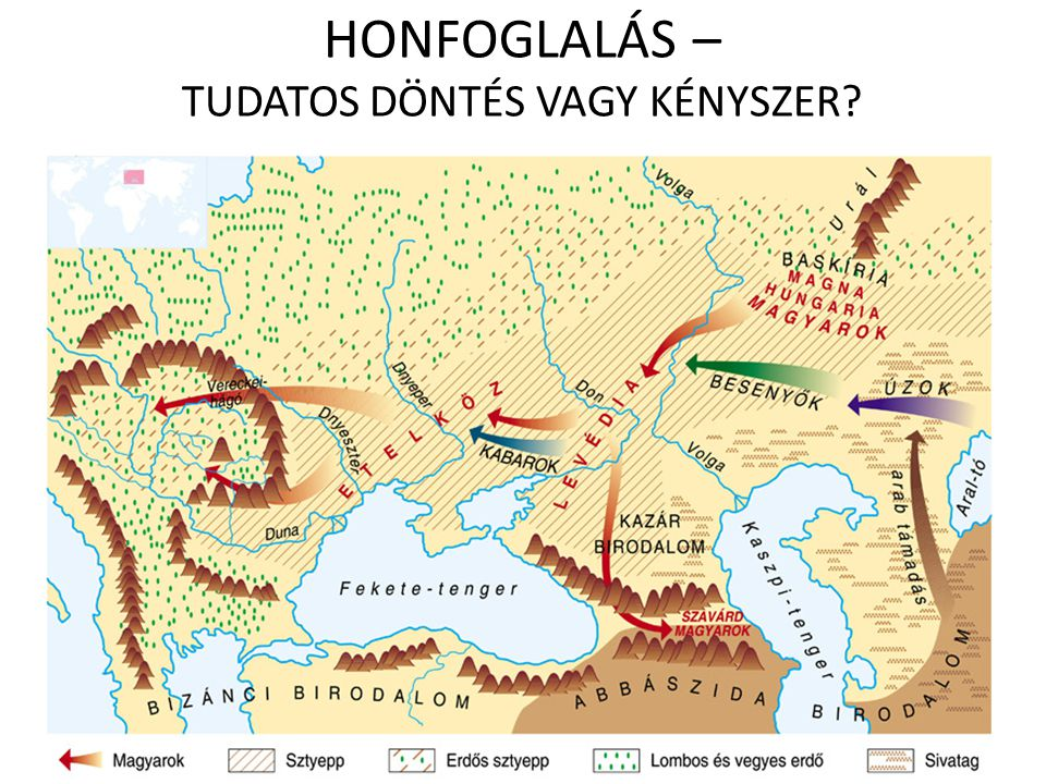 HONFOGLALÁS – TUDATOS DÖNTÉS VAGY KÉNYSZER