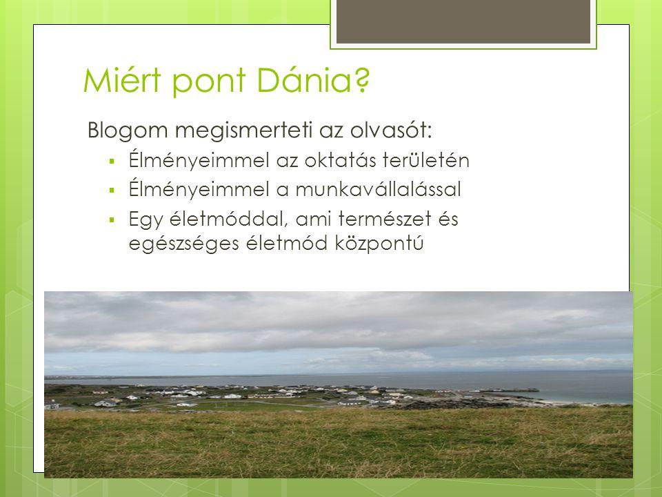 Miért pont Dánia Blogom megismerteti az olvasót: