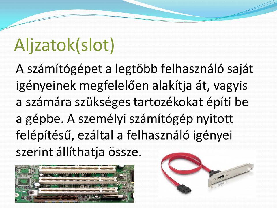 Aljzatok(slot)