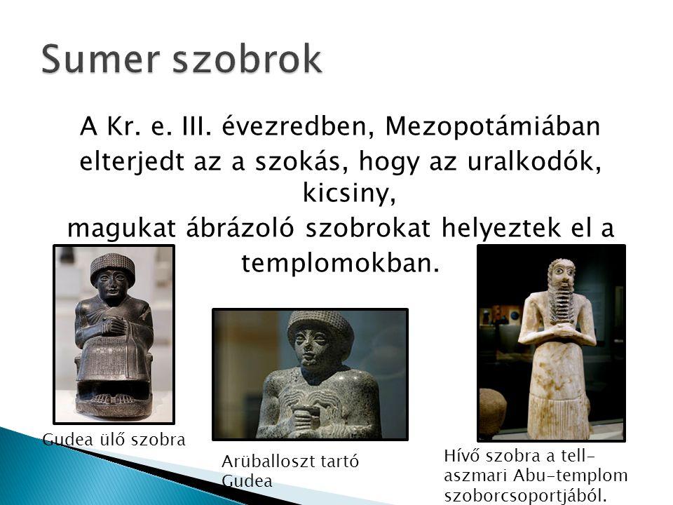 Sumer szobrok