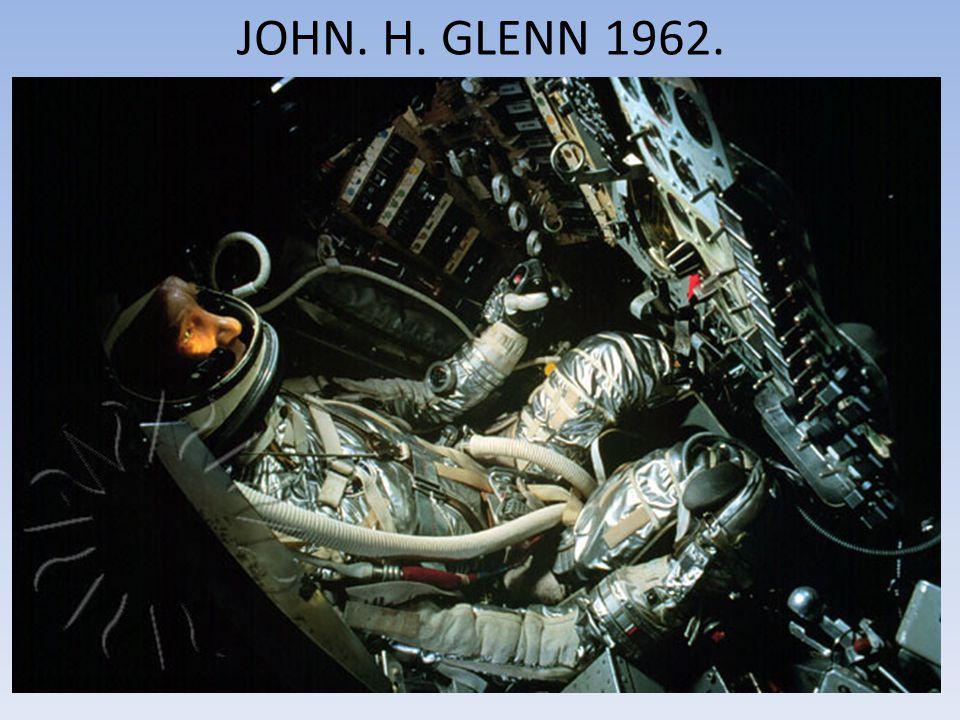 JOHN. H. GLENN 1962.