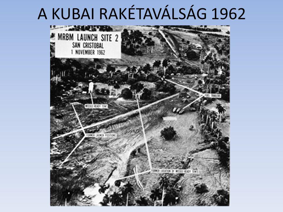 A KUBAI RAKÉTAVÁLSÁG 1962