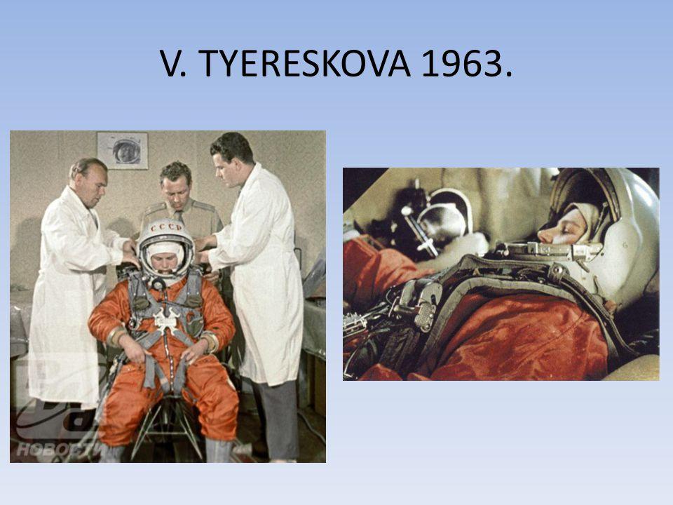 V. TYERESKOVA 1963.