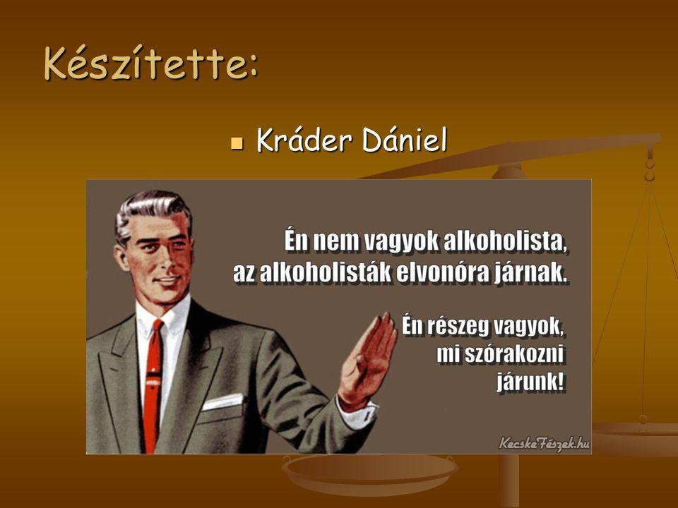 Készítette: Kráder Dániel