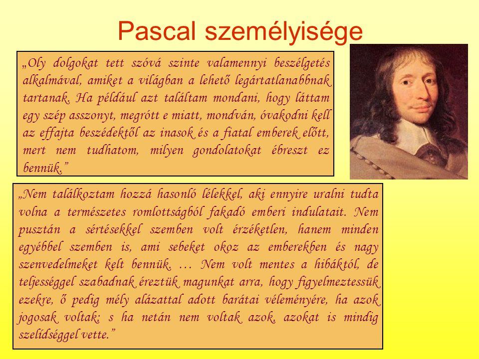 Pascal személyisége