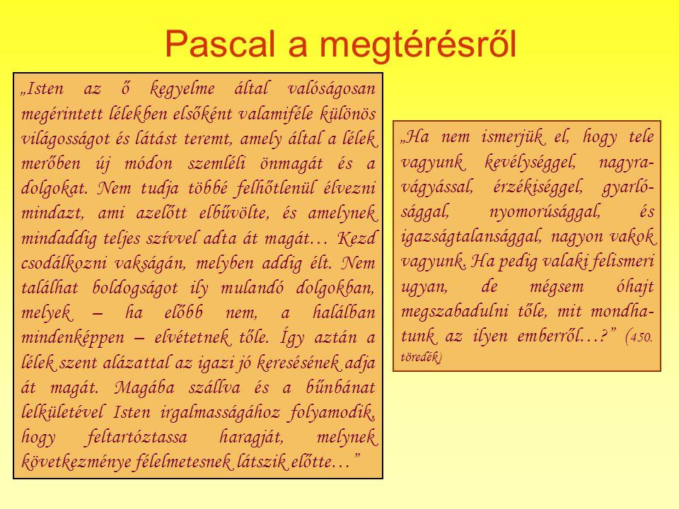Pascal a megtérésről