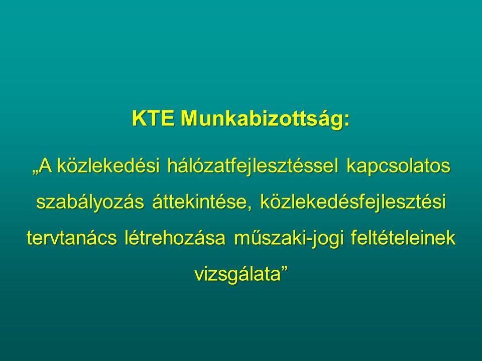 KTE Munkabizottság: