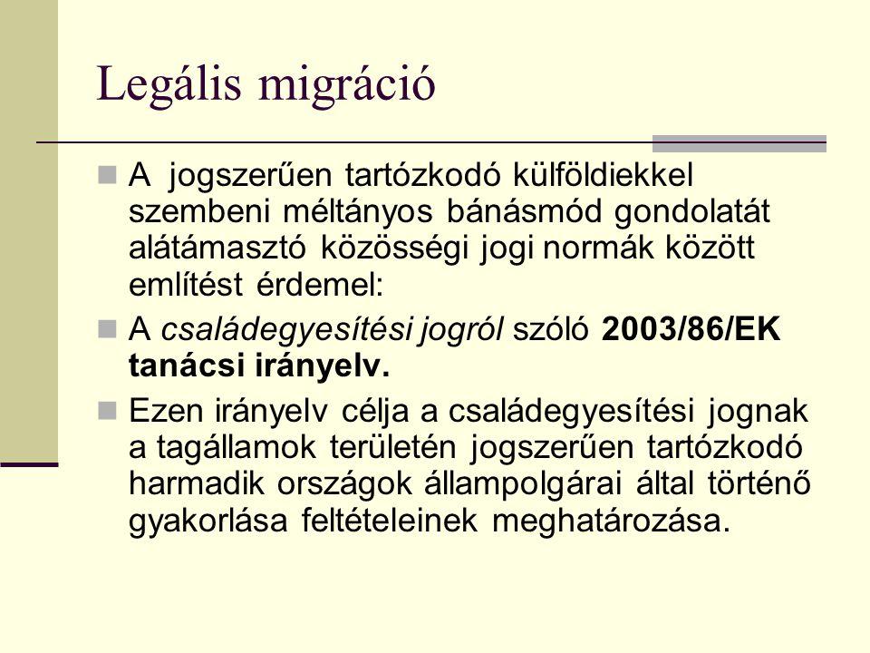 Legális migráció
