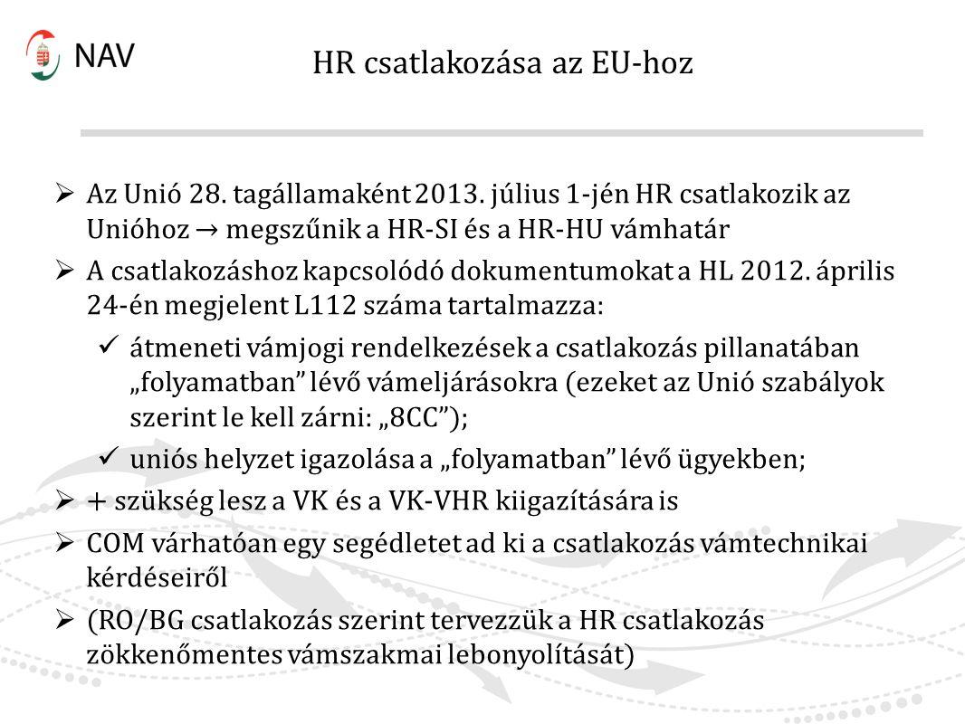 HR csatlakozása az EU-hoz