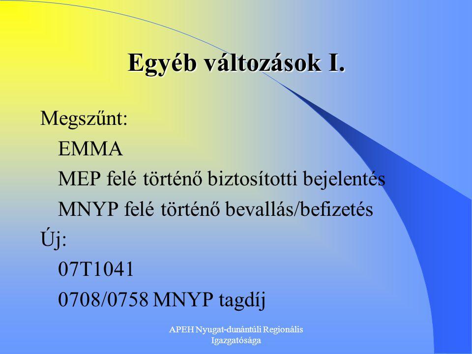 APEH Nyugat-dunántúli Regionális Igazgatósága