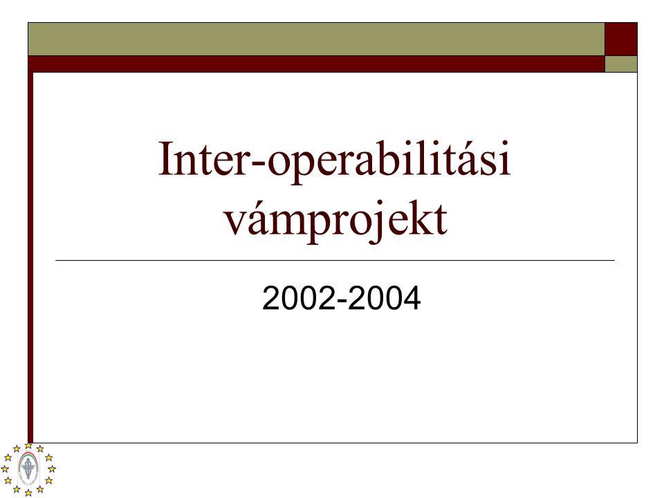 Inter-operabilitási vámprojekt